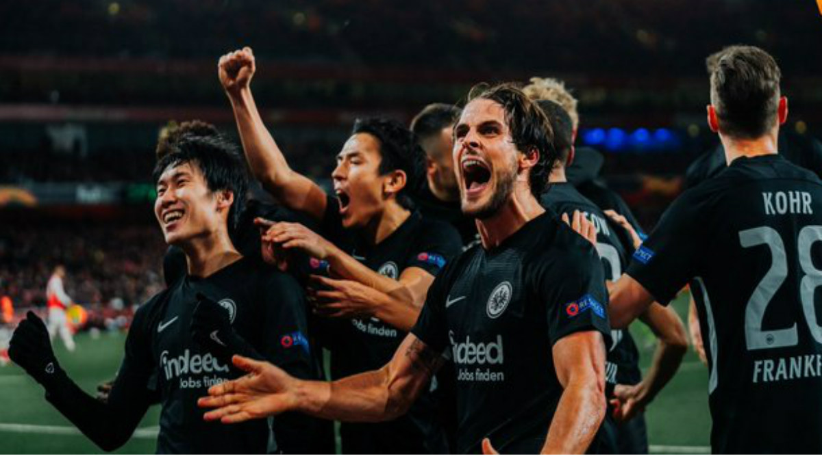 Arsenal Crushed by Eintracht Frankfurt 2-1 in UEFA Europa League 2019-20