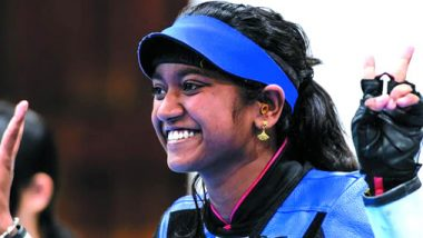 Elavenil Valarivan wins Gold Medal in 10m Air Rifle Event of ISSF World Cup 2019 Final, Mehguli Ghosh Misses Out on Podium Finish
