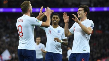England vs Kosovo, UEFA EURO Qualifiers 2020 Live Streaming Online & Match Time in IST: How to Get Live Telecast of ENG vs KOS on TV & Football Score Updates in India