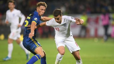 Euro 2020 Qualifiers: Harry Winks, Mason Mount Net First England Goals in Kosovo Rout