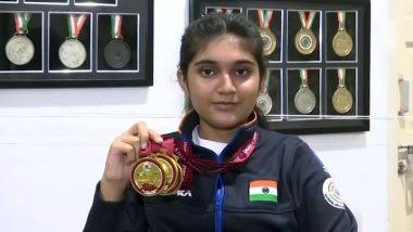 Esha Singh, 14-Year Old Shooter, Wins Three Gold Medals at Asian Shooting Championship 2019