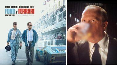 Ford V Ferrari: CBFC Blurs Alcohol Glasses and Bottles From Matt Damon and Christian Bale Starrer