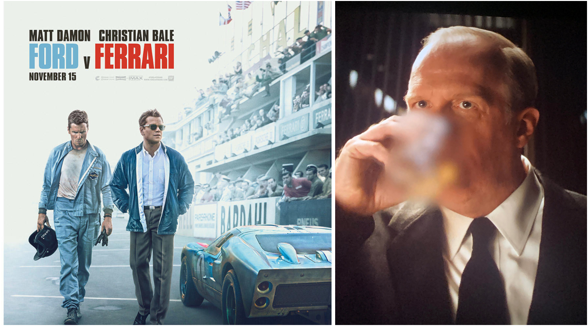 Ford V Ferrari: CBFC Blurs Alcohol Glasses and Bottles From Matt Damon and Christian Bale Starrer