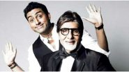 With Love From Abhishek! Amitabh Bachchan Shares a Photo of AB Jr's Handwritten Note from his Childhood Days and it's all Things Adorable