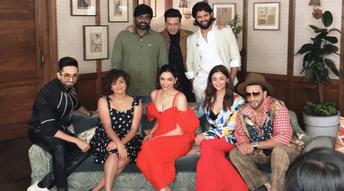 Deepika Padukone, Vijay Deverakonda, Ranveer Singh, Vijay Sethupathi and More Get Captured In One Frame and We're Damn Excited! (View Pics)