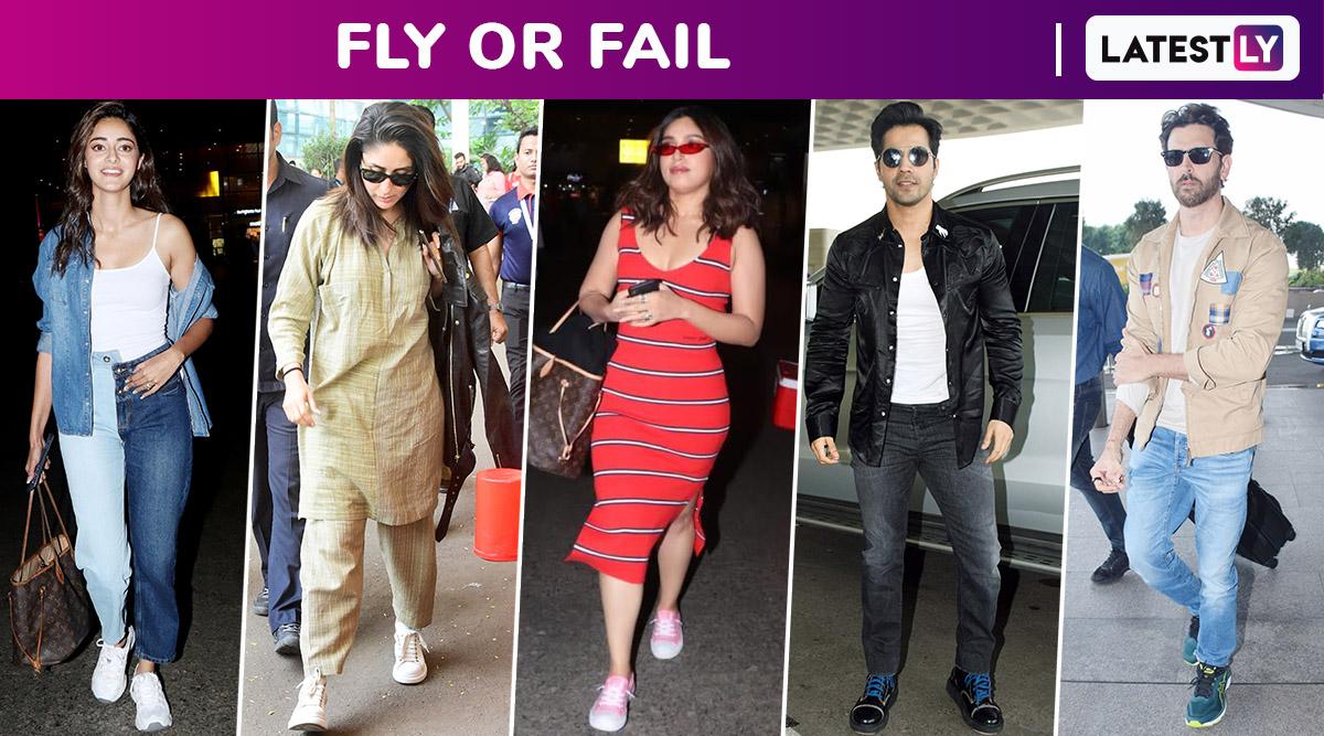 Fly or Fail: Kareena Kapoor Khan, Hrithik Roshan, Ananya Panday, Bhumi Pednekar and Varun Dhawan Travel in Style