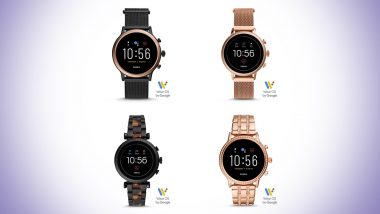 Fossil Gen5 Smartwatches With 1.3-inch Circular AMOLED Display Launched In India