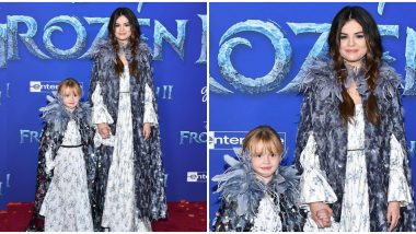 Frozen 2 Premiere: Selena Gomez and Her Little Sister Gracie Go the Norwegian Fashion Way on the Red Carpet (View Pic)