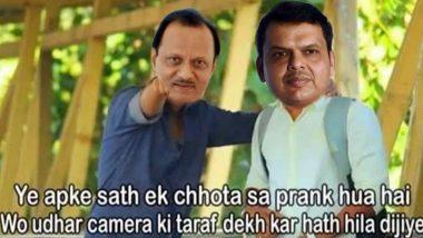 Maharashtra Politics Funny Memes And Jokes Flood Twitter After Devendra Fadnavis, Ajit Pawar Resign, Netizens Crack 'Chanakya' Jokes Featuring Sharad Pawar