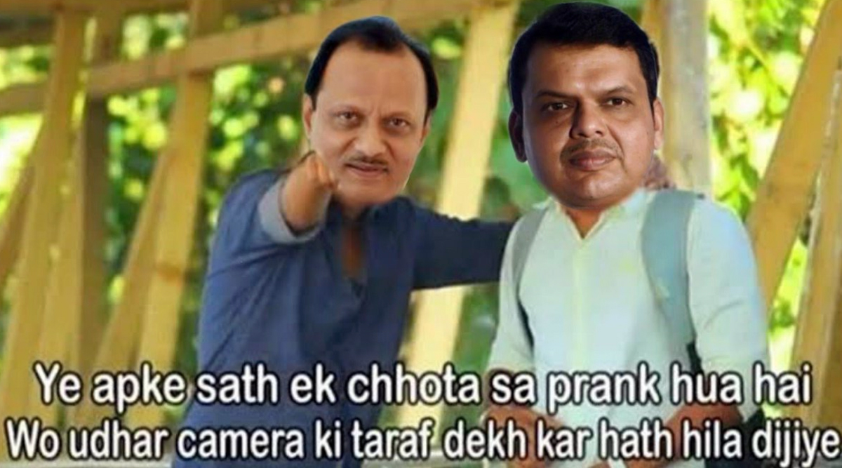 Maharashtra Politics Funny Memes And Jokes Flood Twitter After Devendra Fadnavis, Ajit Pawar Resign, Netizens Crack 'Chanakya' Jokes Featuring Sharad Pawar