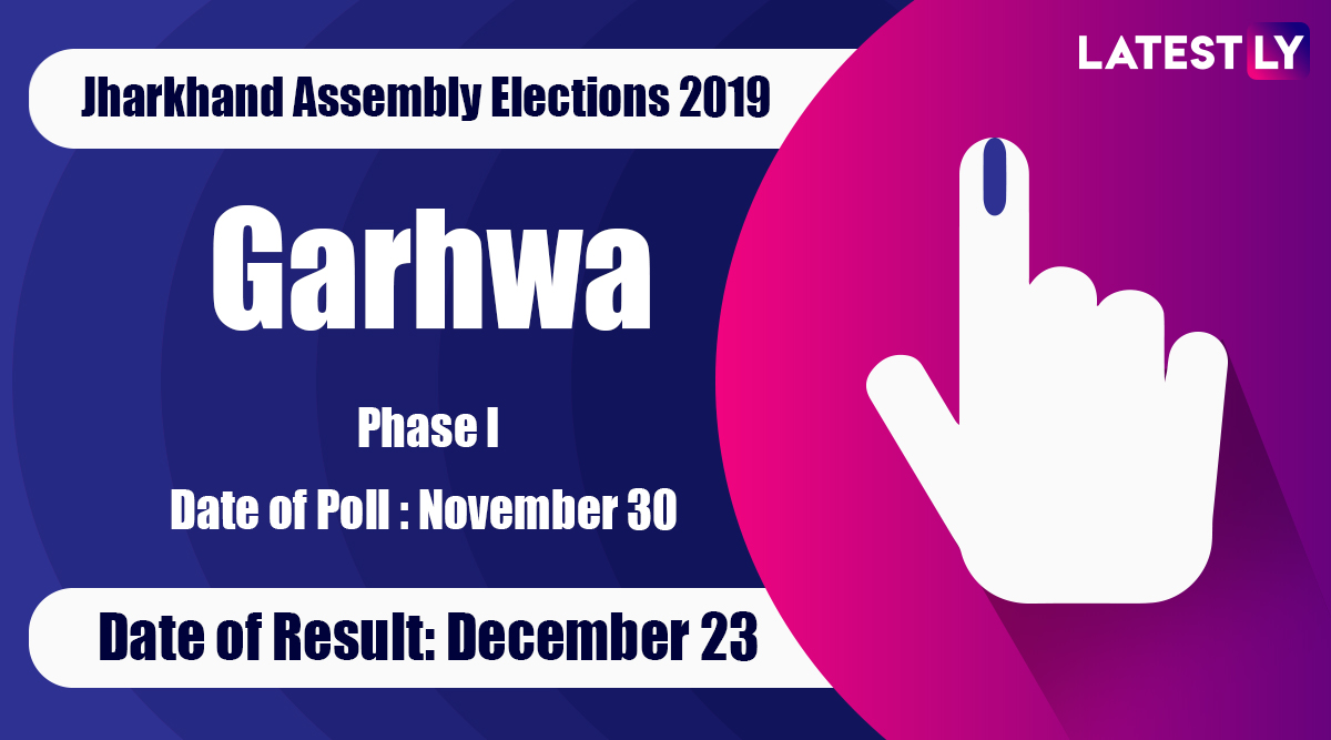 Garhwa Vidhan Sabha Constituency in Jharkhand: Sitting MLA, Candidates For Assembly Elections 2019, Results And Winners