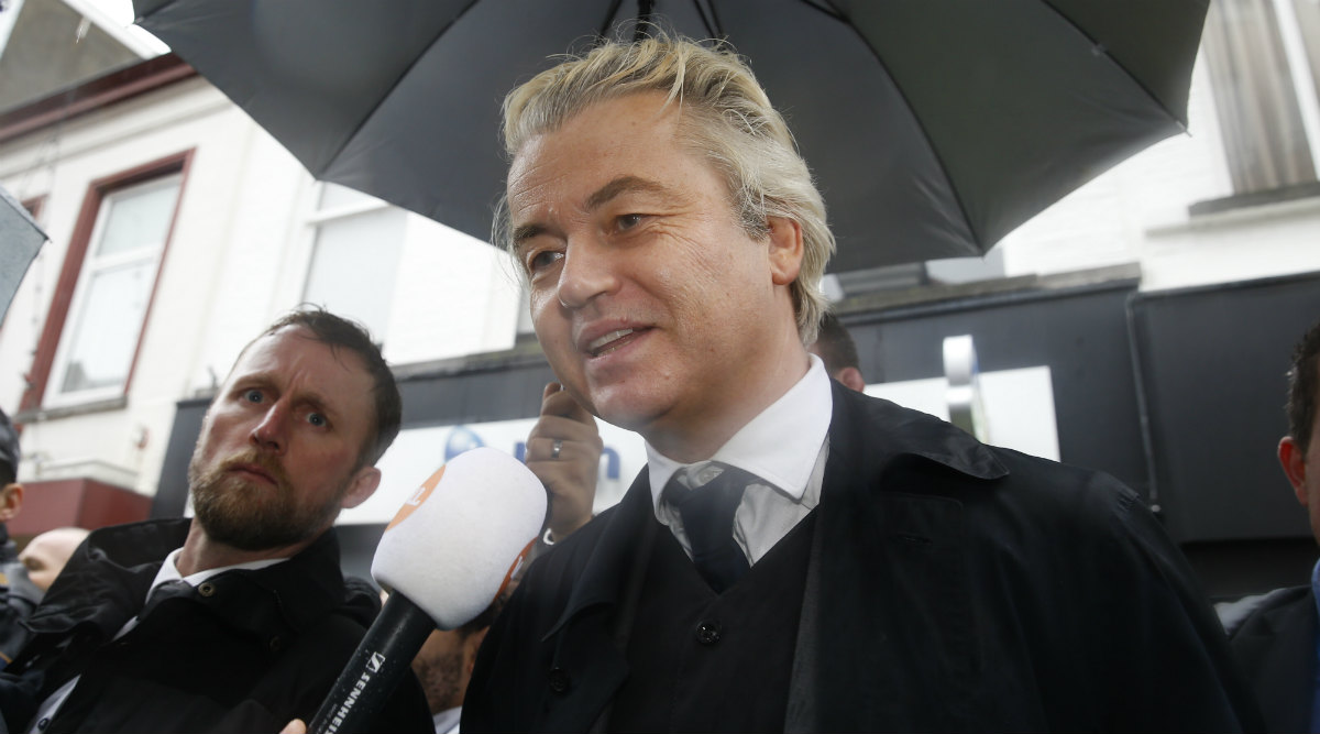 Pakistan Man Jailed for 10 Years for Plotting Dutch MP Geert Wilders Murder
