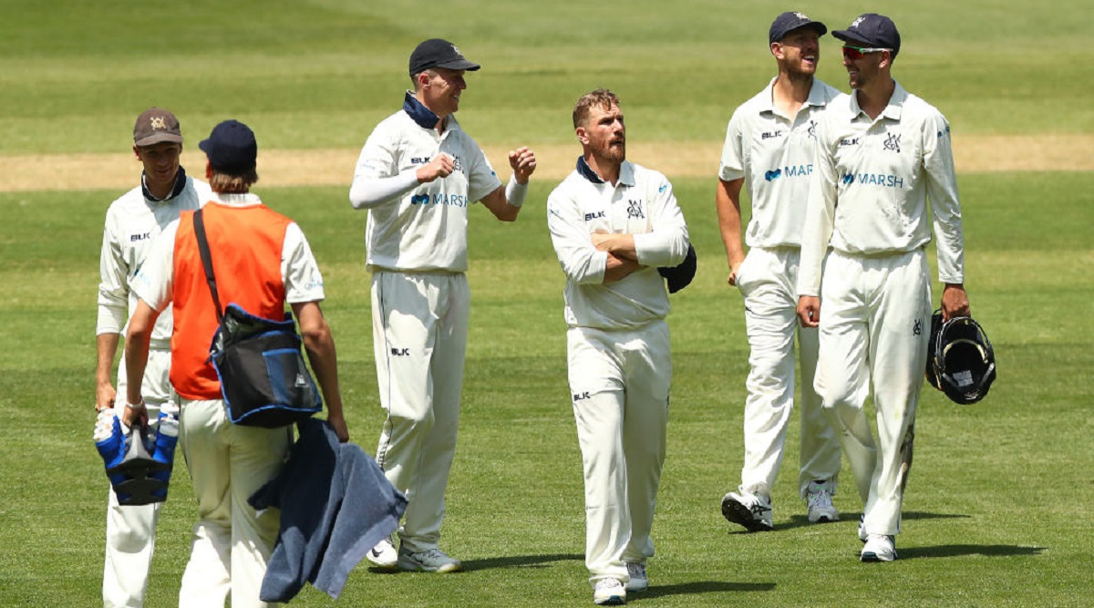 Aaron Finch Suffers Blow on Head While Fielding on Short Leg, Suffers Late Concussion During Victoria's Marsh Sheffield Shield Match Against NSW
