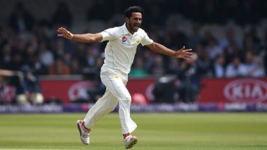 Pakistan vs Sri Lanka Test Series 2019: Hasan Ali Ruled Out of Two Home Tests Against SL Due to Rib Fracture