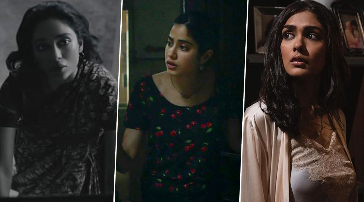 Ghost Stories: Janhvi Kapoor, Mrunal Thakur and Sobhita Dhulipala's Look from the Horror Anthalogy Out