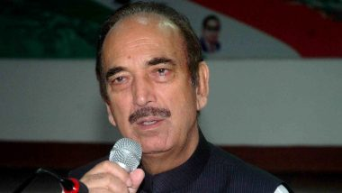 Jharkhand Assembly Elections 2019: I Have Full Faith Congress Alliance Will Come to Power, Says Ghulam Nabi Azad