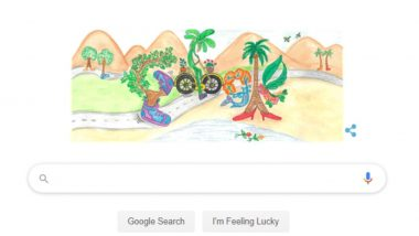 Children's Day India: Winner of 2019 Doodle For Google Competition is Divyanshi Singhal For Her Art 'The Walking Tree'