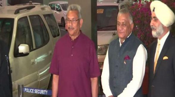 Sri Lanka President Gotabaya Rajapaksa Arrives on 3-Day India Visit