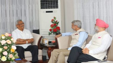 Newly-Elected Sri Lankan President Gotabaya Rajapaksa to Visit India on Nov 29, Says S Jaishankar