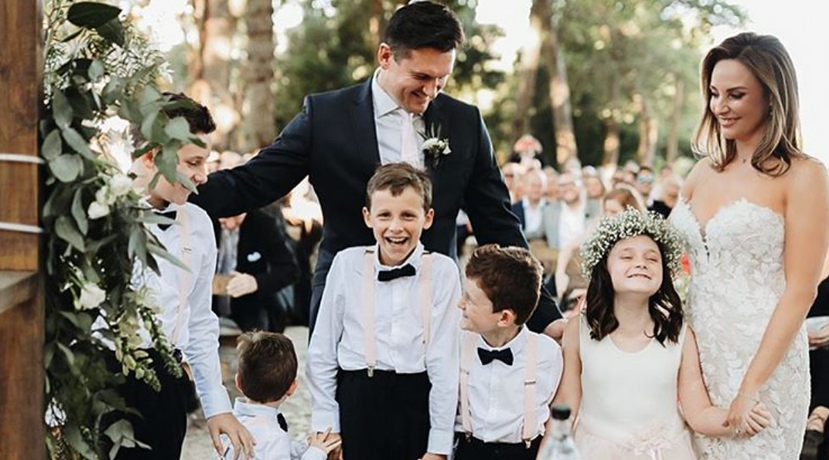 Graeme Smith Exchanges Wedding Vows With Romy Lafranchy, Former South African Cricket Team Captain Shares Beautiful Picture on Instagram (View Pics)