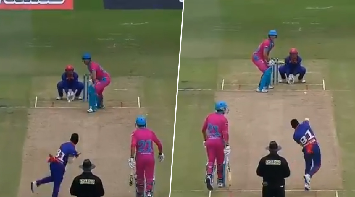 Gregory Mahlokwana Takes Wickets With Both Hands During Mzansi Super League 2019 Match; Watch Video