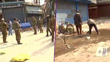 Jammu And Kashmir: Grenade Attack Near Srinagar's Lal Chowk, Civilian Killed, Dozen Injured