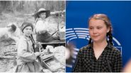 Is Greta Thunberg a Time Traveller? 120-Year-Old Picture of Climate Activist's Lookalike Sparks Confusion Among Netizens (Check Tweets)