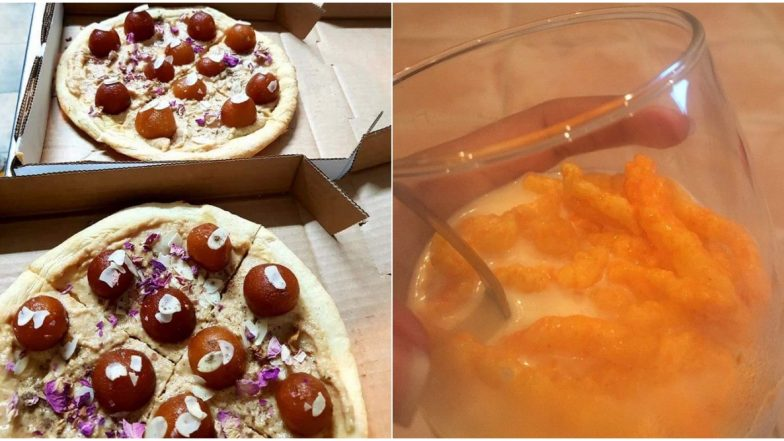 After Kaju Katli - Ketchup Combo, Gulab Jamun Pizza and Kurkure Milkshake by Desi Twitter Are Out to Ruin Your Foodgasm