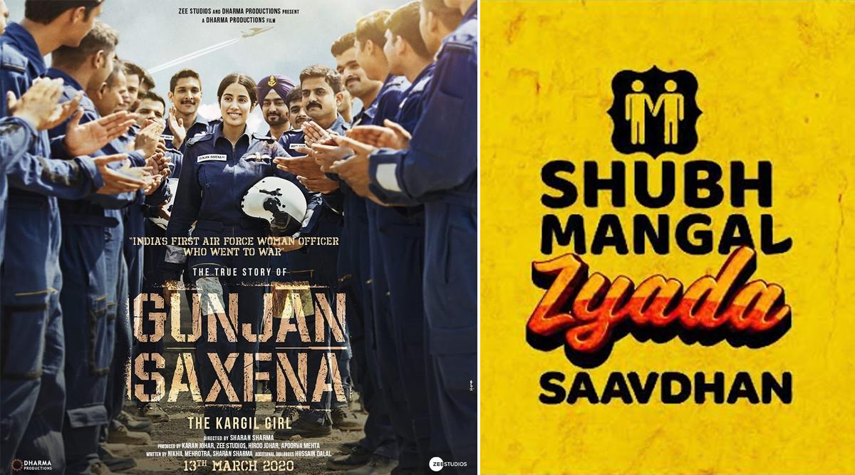 Shubh Mangal Zyada Saavdhan to Not Clash with Janhvi Kapoor's Gunjan Saxena Biopic, Ayushmann Khurrana Starrer Preponed to February 2020