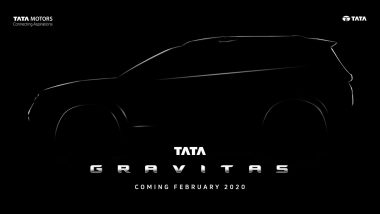 Tata Gravitas Aka H7X 7-Seater SUV To Be Launched in India By February 2020; Expected Price, Features & Specifications