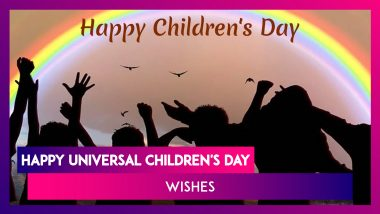 Universal Children's Day 2019 Wishes: Messages, Images and Greetings to Wish Happy Children's Day