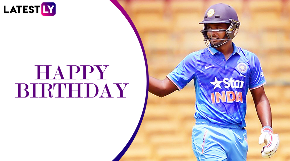 Happy Birthday Sanju Samson: Look at Five of the Best Knocks by India's Rising Star