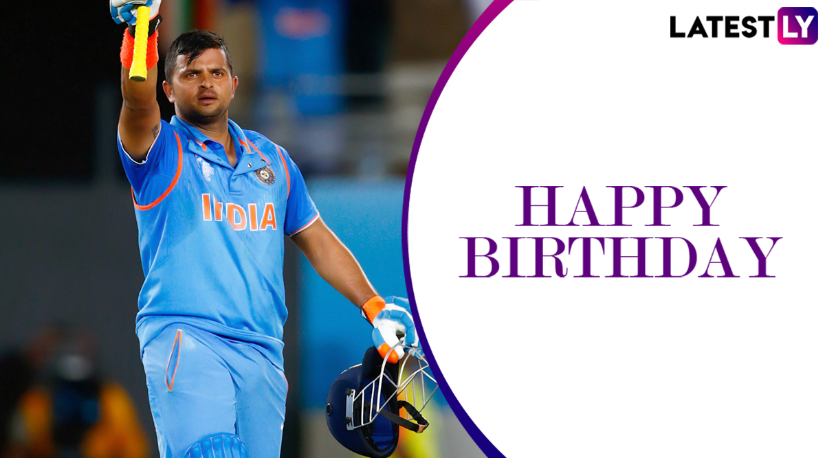 Happy Birthday Suresh Raina: A Look at Five Staggering Innings by Swashbuckling Southpaw