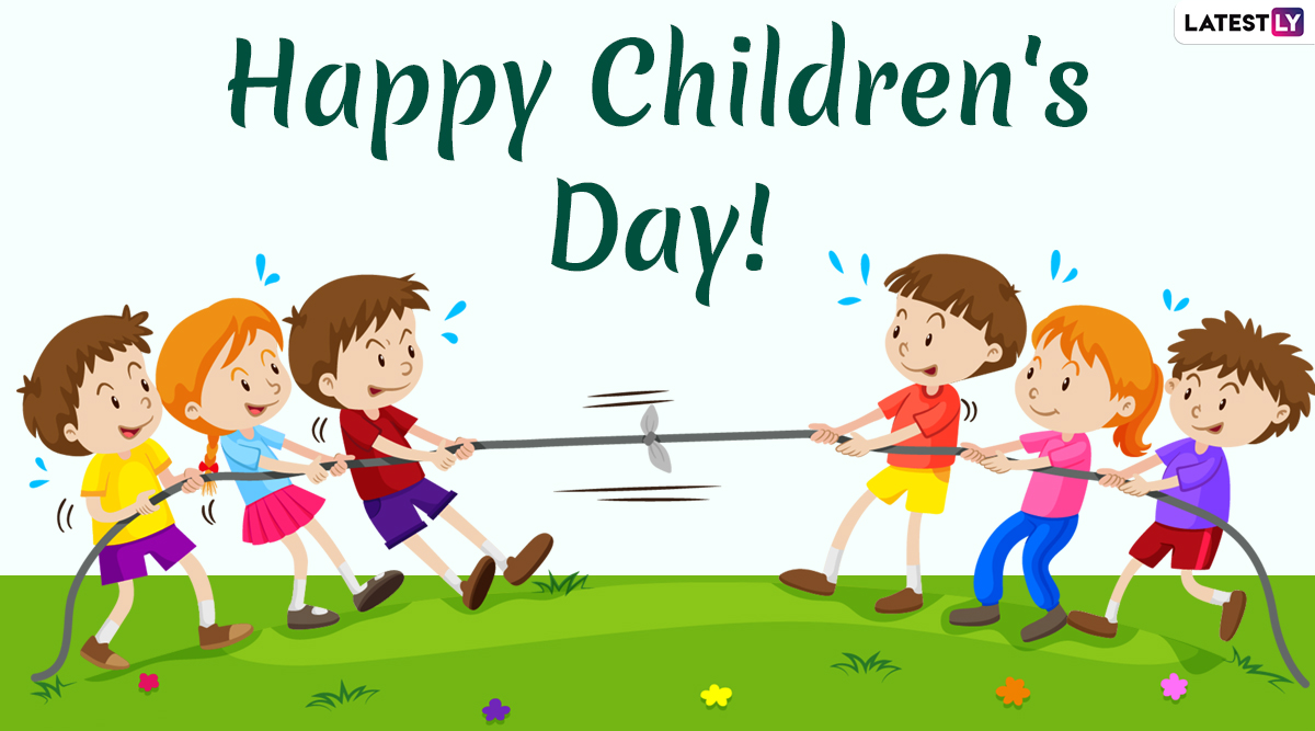 Happy Children's Day 2019 Wishes & Images: WhatsApp Messages, GIF Greetings, Facebook Quotes and SMS to Share on World Children's Day