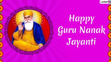 Gurpurab 2019 Images & Parkash Purab 550 HD Wallpapers For Free Download Online: Wish Happy Guru Nanak Jayanti With GIF Greetings & Hike Messages on Guru Nanak Dev Ji Parkash Utsav