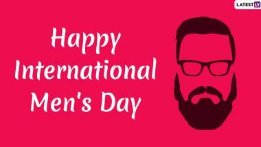Happy International Men's Day Images & HD Wallpapers for Free Download Online: Wish Men's Day 2019 With WhatsApp Stickers & GIF Greetings