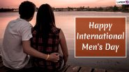 International Men's Day 2019 Romantic Wishes For Husband: WhatsApp Messages, Love GIF Images, Quotes and Greetings to Wish Your Partner on This Special Observance