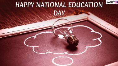Happy National Education Day 2019 Wishes: People Exchange Messages, Maulana Abul Kalam Azad Quotes and Images to Send Greetings of This Day