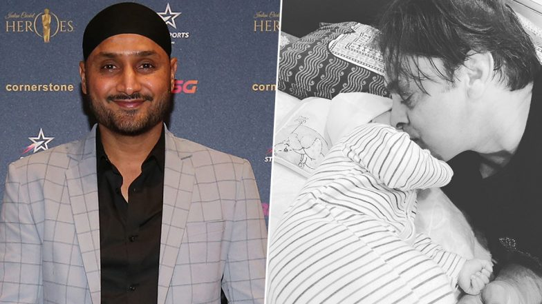 Harbhajan Singh Congratulates Shoaib Akhtar in His Own Style, Showers Blessings on Former Pakistan Speedster's Newborn Baby