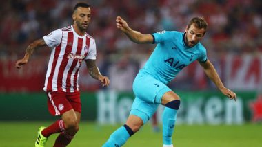 Tottenham Hotspur vs Olympiacos, UEFA Champions League 2019–20 Live Streaming Online: Where to Watch TOT vs OLY UCL 2019–20 Group Stage Match Live Telecast on TV & Free Football Score Updates in Indian Time?