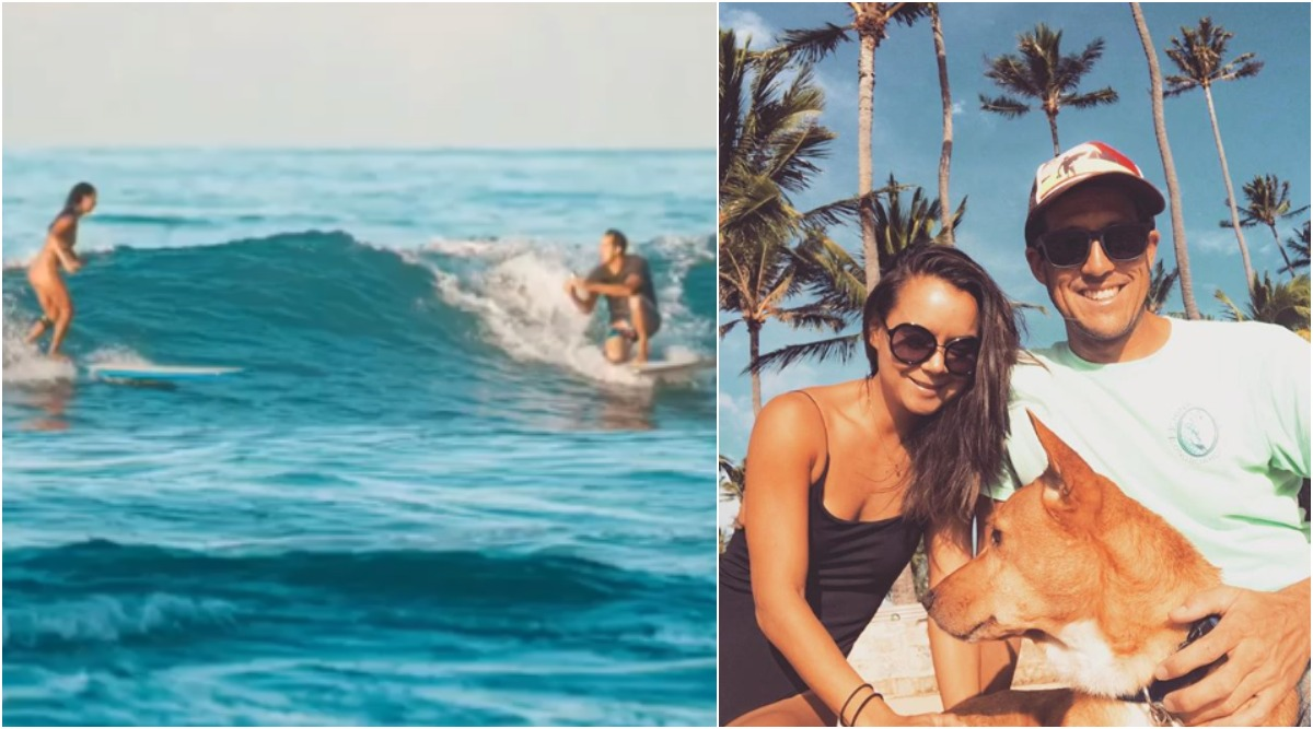 Hawaii Man Proposes to Girlfriend While Surfing And Ends Up Dropping Ring in the Ocean, But There's a Sweet TWIST! (See Pictures)