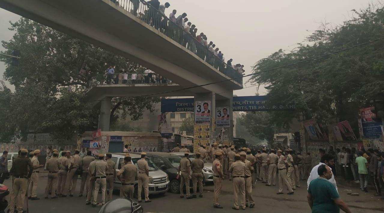 Tis Hazari Court Violence: Security Tightened as Lawyers Strike Work