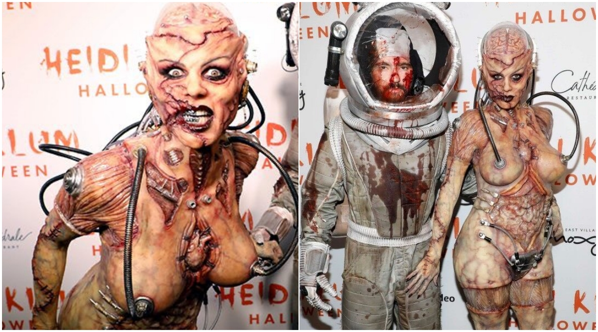 Heidi Klum's Alien-Cum-Zombie Halloween 2019 Costume Lives Up To Her Reputation of Queen! View Pics and Videos