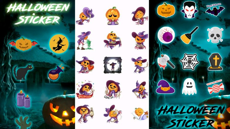 Happy Halloween 2019: How To Download Halloween Stickers on WhatsApp For Sending Spooky Greetings & Wishes