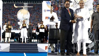 Men's Hockey World Cup 2023 Venues Bhubaneswar and Rourkela announced by Hockey India and Odisha CM Naveen Patnaik During a Grand Celebration (See Photos)