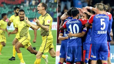 Hyderabad FC vs Bengaluru FC, ISL 2019-20 Live Streaming on Hotstar: Check Live Football Score, Watch Free Telecast of BFC vs HYD in Indian Super League 6 on TV and Online