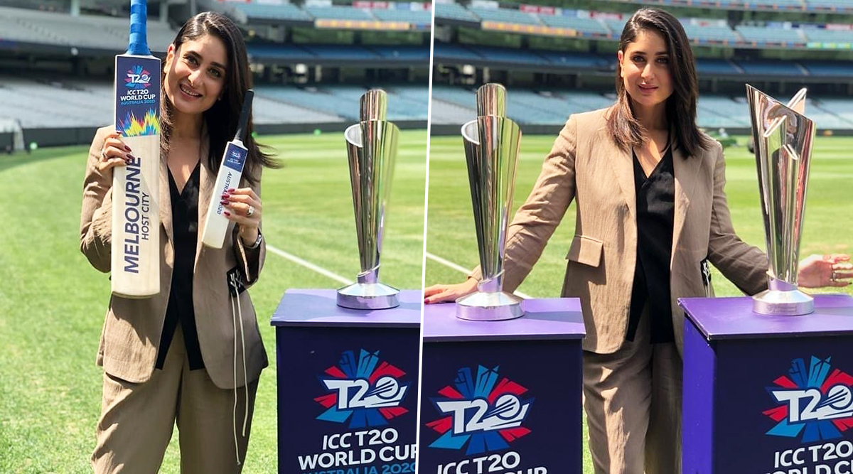 ICC Women's T20 World Cup 2020 Trophy Unveiled by Bollywood Star Kareena Kapoor in Melbourne, Have a Look