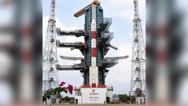 CARTOSAT-3 Earth Imaging Satellite Launched by ISRO, Indian Space Agency Creates Milestone With Launch of 13 US Nano Satellites On Board PSLV-C47 (Watch Video)