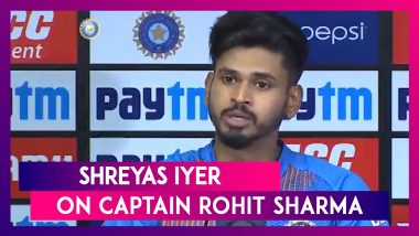 India vs Bangladesh T20I:  Rohit's Pep-Talk Got Us Motivated To Win Match, Says Shreyas Iyer