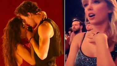 American Music Awards 2019: Shawn Mendes and Camila Cabello's Steamy Performance Has Not Just Us But Taylor Swift Going All 'Aww' Too (Watch Video)
